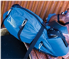 Endurance Western Stowaway Cantle Bag With Insulated Water